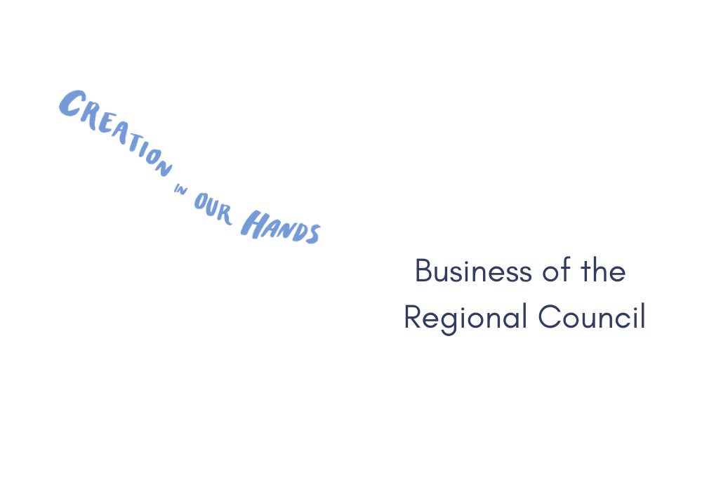 Business of the Regional Council