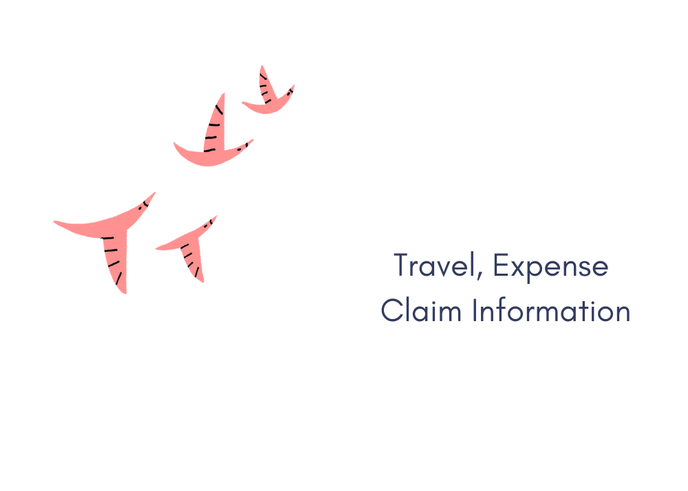 Travel, Expense Claim Information