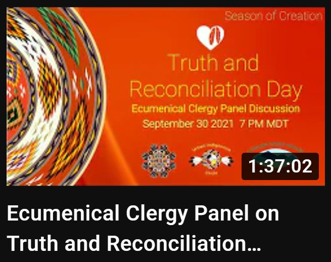 Capture Ecumenical Clergy Panel on Truth and Reconciliation